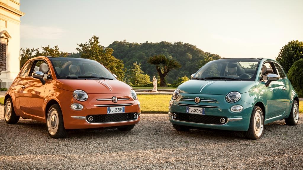 De Fiat 500 viert zijn zestigste verjaardag met de speciale serie « Anniversario »
