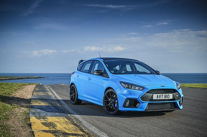 Nieuw performance pack voor Ford Focus RS biedt nog meer rijplezier
