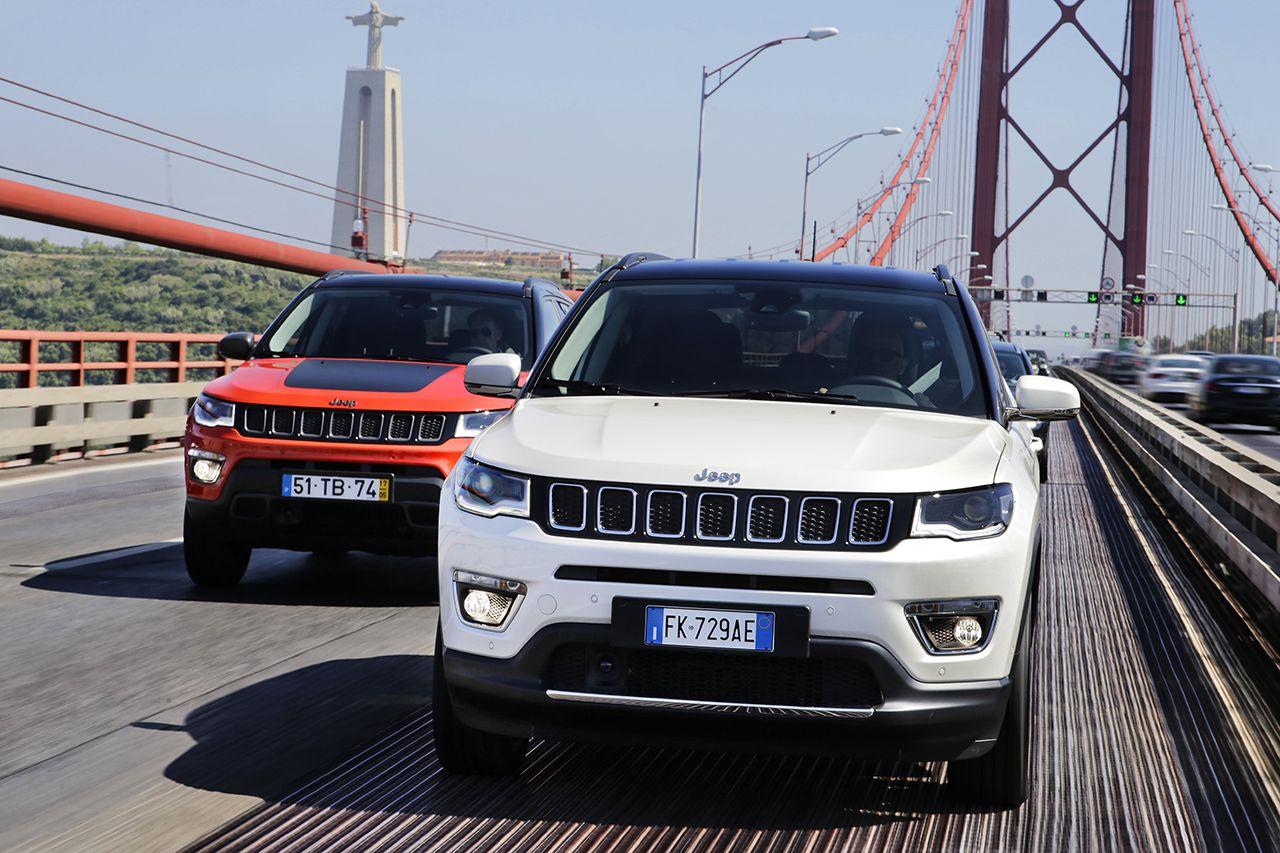 Nieuwe Jeep® Compass: onovertroffen 4×4-capaciteiten, toptechnologie en authentiek design.