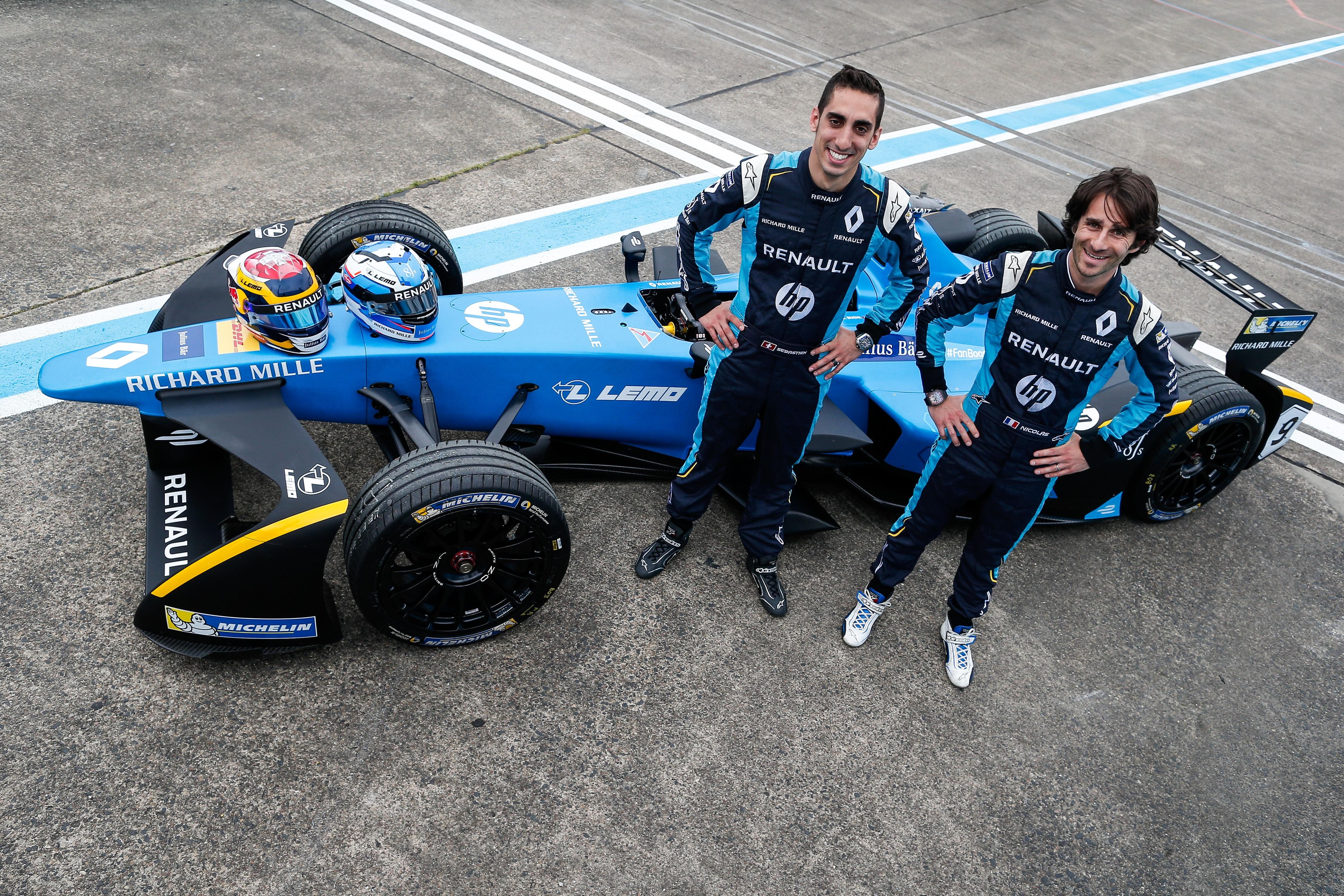 Renault e.dams bevestigt Sébastien Buemi en Nicolas Prost voor de seizoenen 4 en 5 van het FIA-Kampioenschap Formule E.