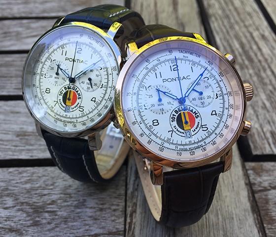 Belgisch uurwerk viert onze Belgen in de 24 uren van Le Mans !