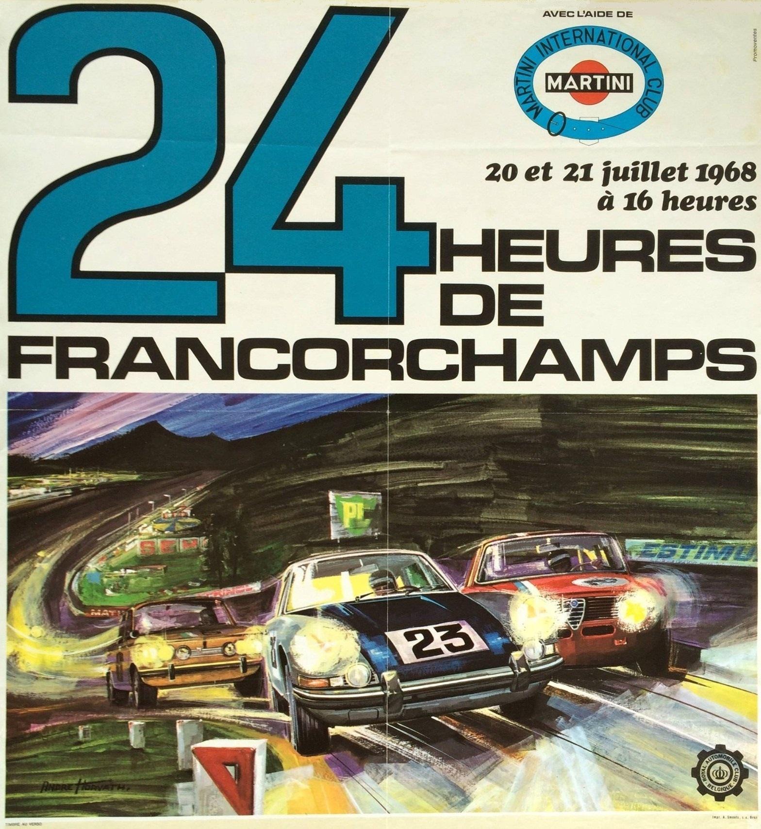 50ste verjaardag van eerste Porsche-zege in 24 uur van Spa in stijl gevierd!
