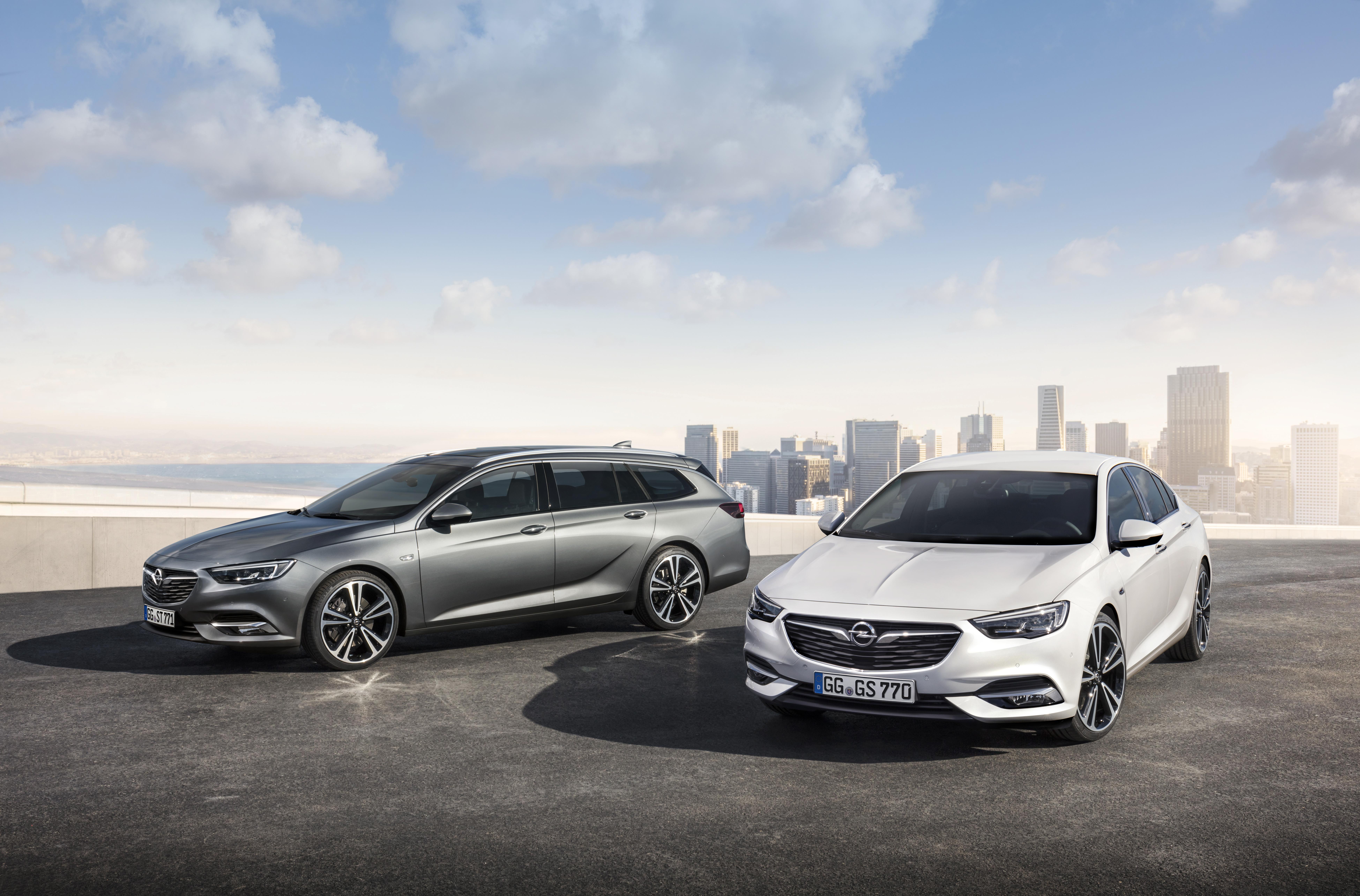 Vijf sterren van Euro NCAP bevestigen sterk veiligheidsconcept nieuwe Opel Insignia