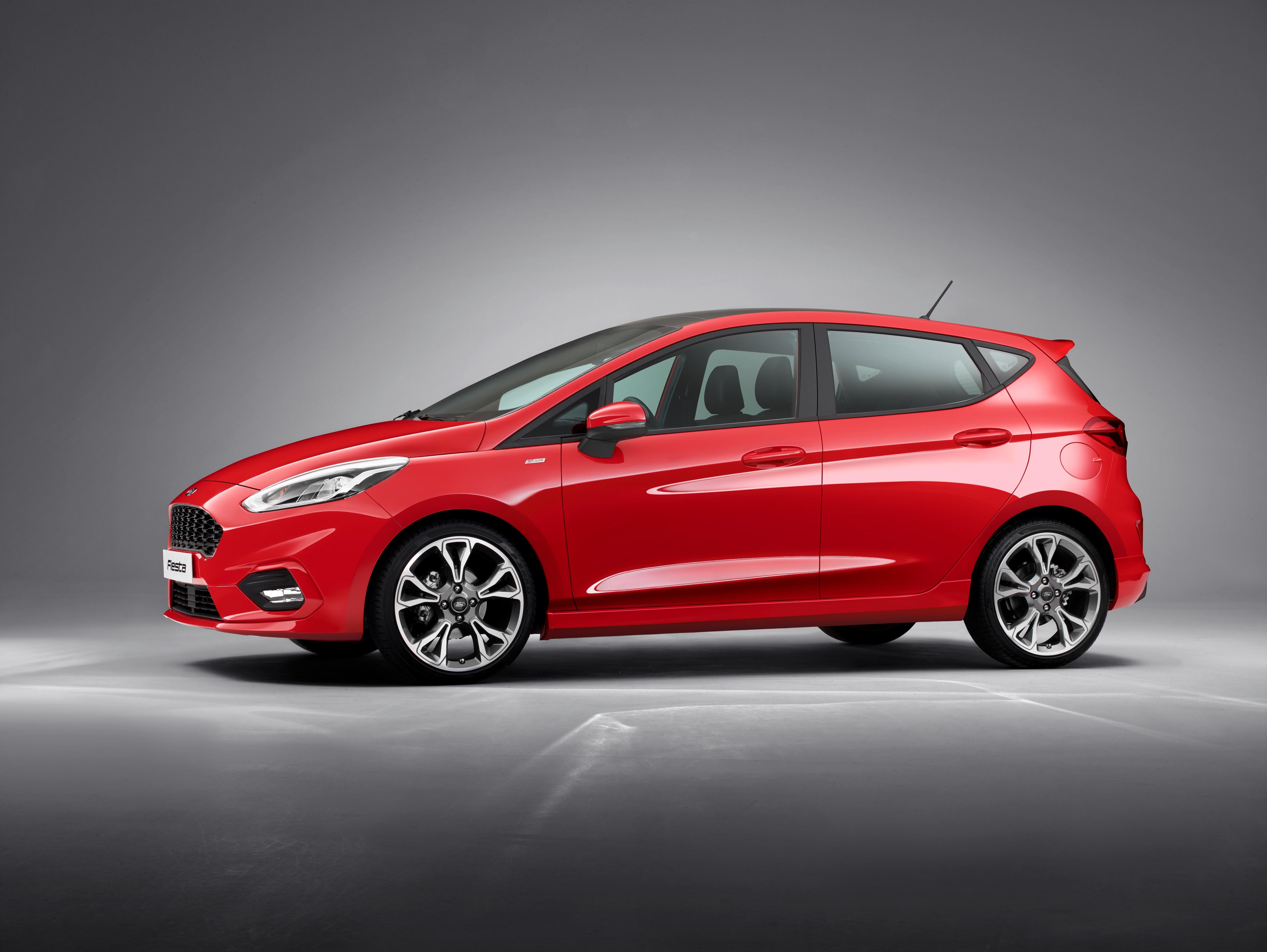 De nieuwe Ford Fiesta ST Line in beelden.