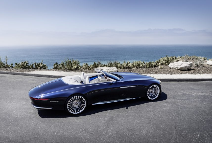 "Luxuriöse Offenbarung - der Zweisitzer Vision Mercedes-Maybach 6 Cabriolet ist eine Hommage an die glorreiche automobile Haute Couture der handgefertigten, exklusiven Cabriolets // A revelation of luxury - the two-seater Vision Mercedes-Maybach 6 Cabriolet pays homage to the glorious ""automotive haute couture"" of hand-finished, exclusive cabriolets"