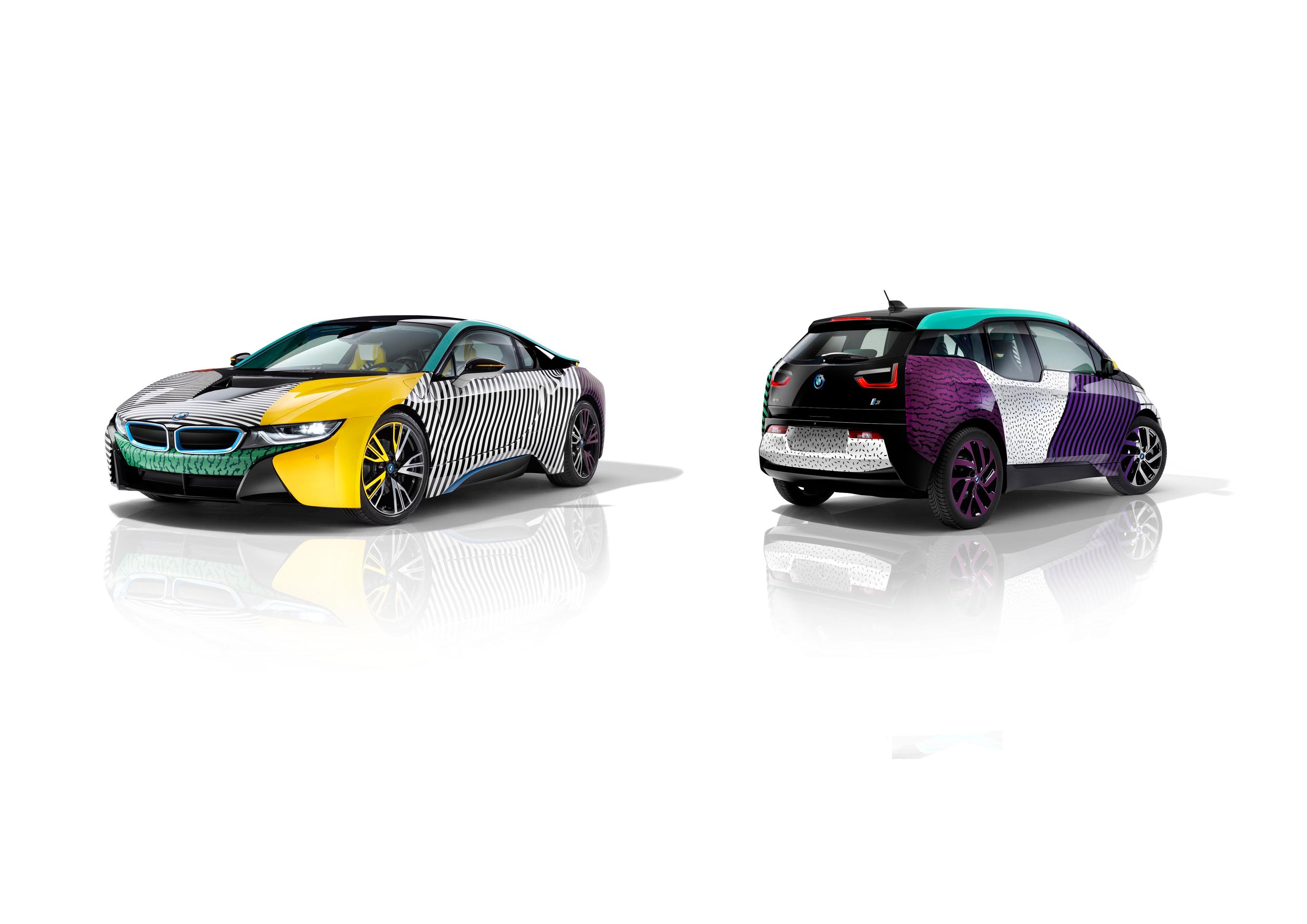 Memphis Design herleeft deze maand in Brusselse BMW Brand Store.