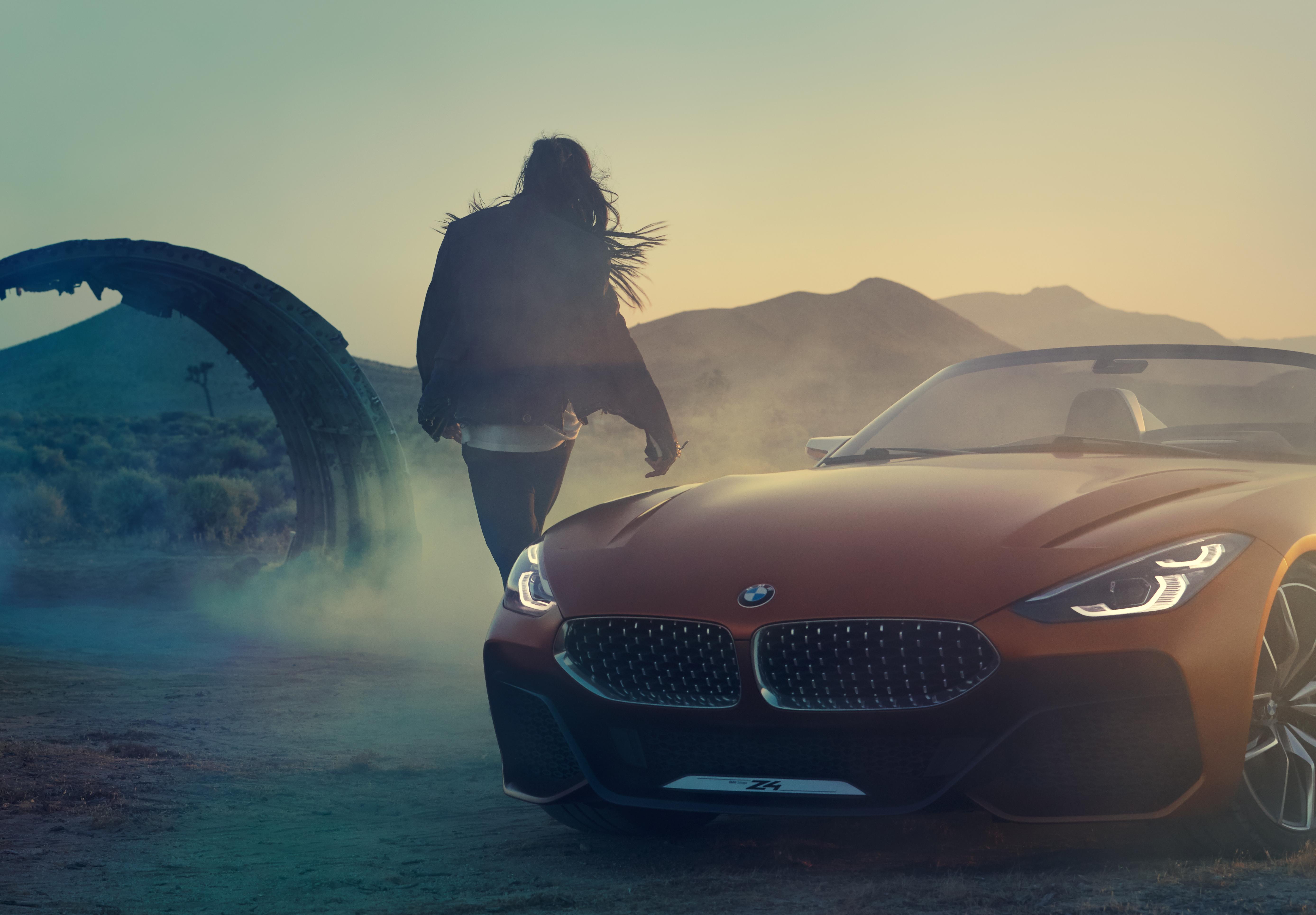 De BMW Concept Z4. Totale vrijheid op vier wielen.