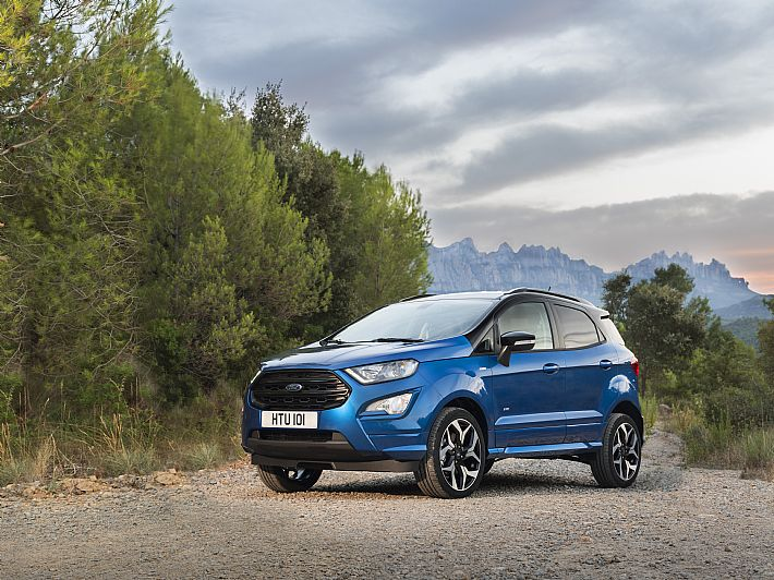 Nieuwe Ford EcoSport SUV
