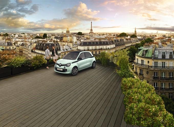 "Beperkte serie Renault Twingo La Parisienne: ""urban-chic"""