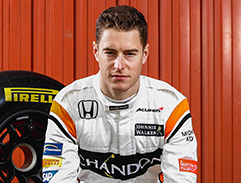 """STOFFEL DROVE INCREDIBLY WELL"""