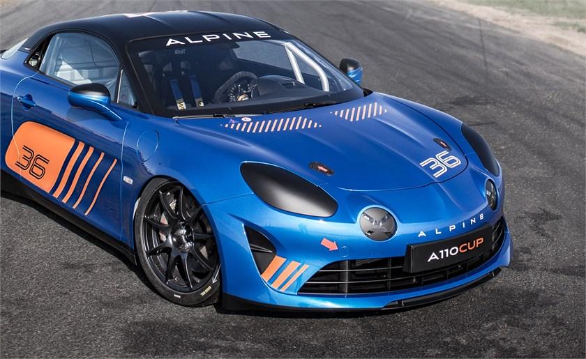 Alpine A110 Cup: een authentieke racewagen, ontwikkeld voor de grootste circuits van Europa