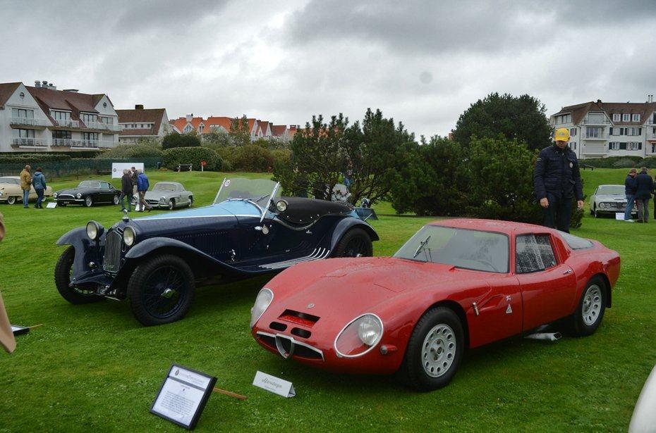 Ook Alfa Romeo was in Knokke-Zoute