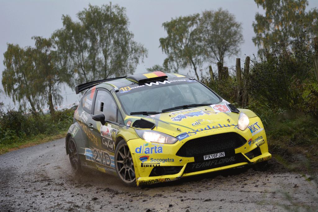 Top 6 voor Adrian Fernémont in de East Belgian Rally