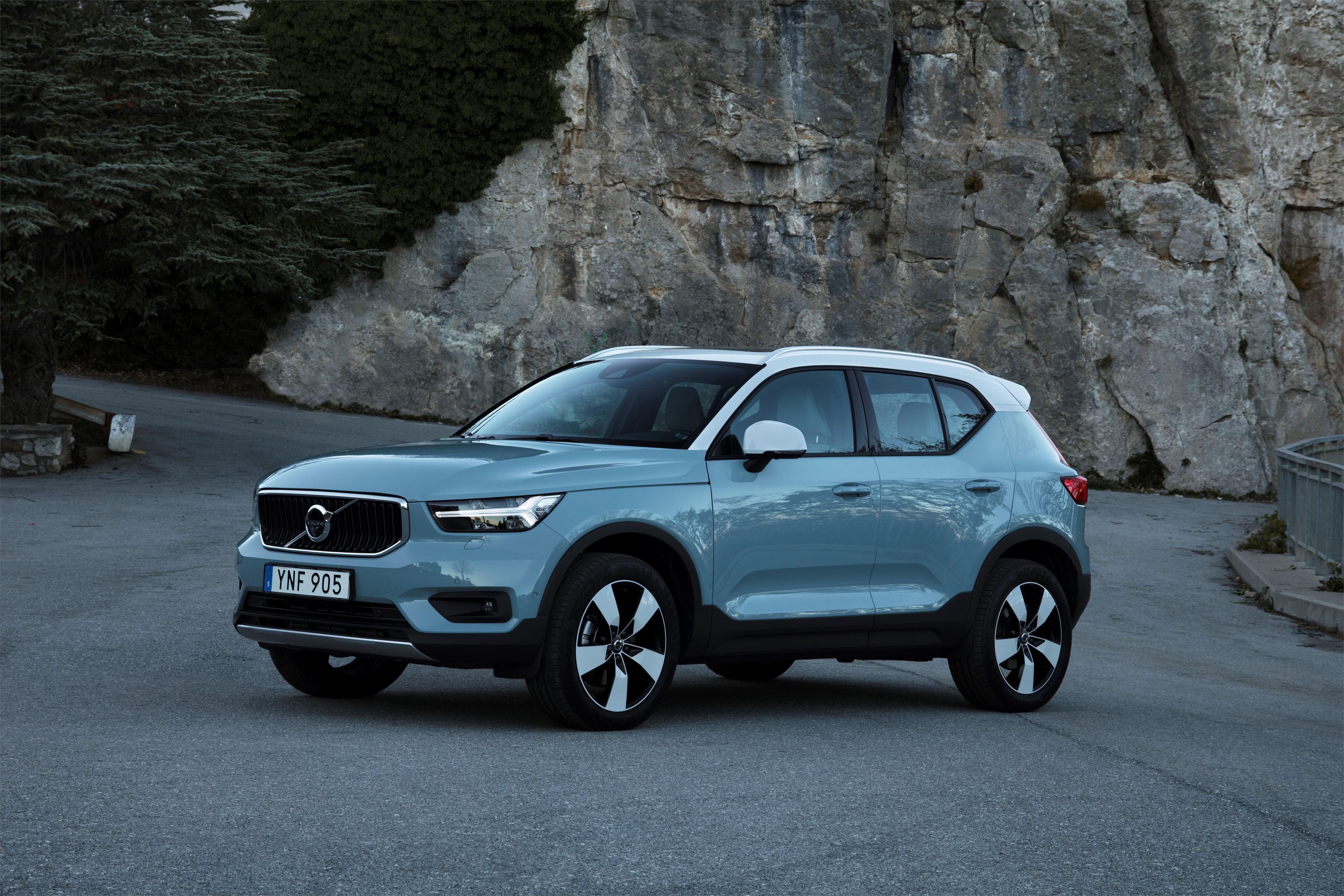 Volvo start productie van allereerste kleine premium SUV in België