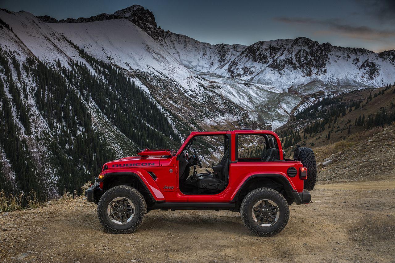 Eerste foto's van de volledig nieuwe Jeep® Wrangler