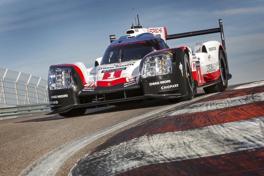 Laste race last pole By Porsche