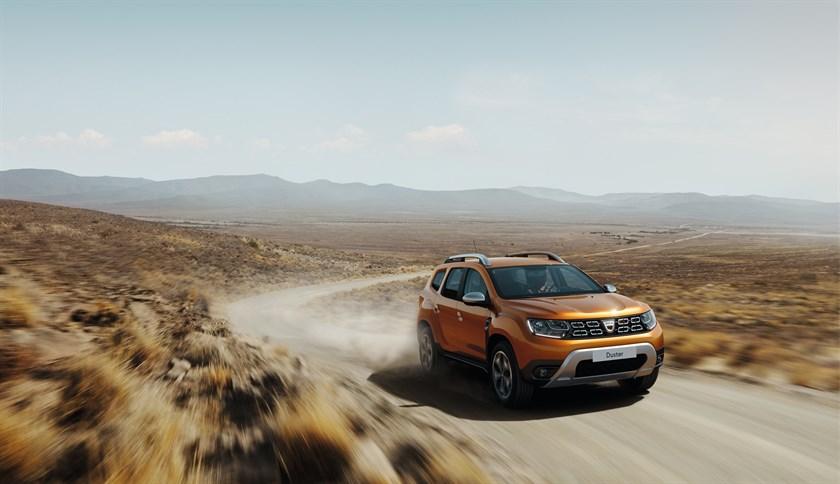 Nieuwe Dacia Duster:
