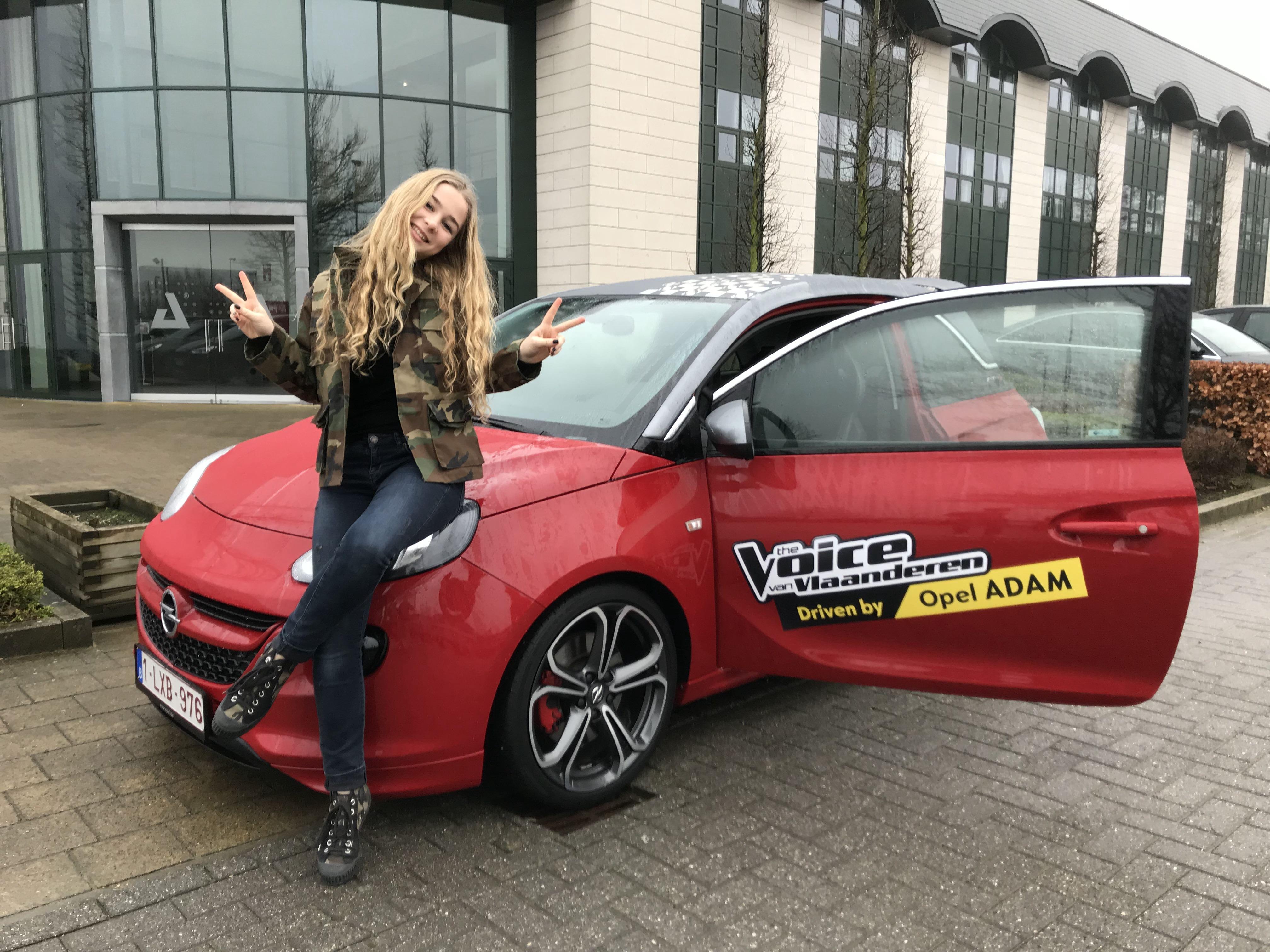 Luka wint The Voice van Vlaanderen en een Opel ADAM ROCKS