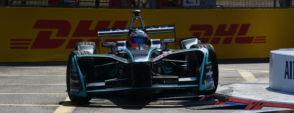 MITCH EVANS & PANASONIC JAGUAR RACING BEHALEN EERSTE PODIUM   IN HONG KONG