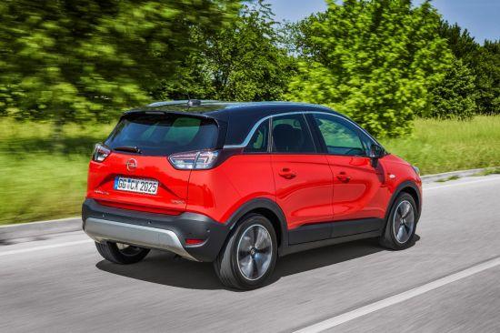 """Opel Crossland X is winnaar in Euro NCAP """"Beste in zijn klasse 2017"""""""