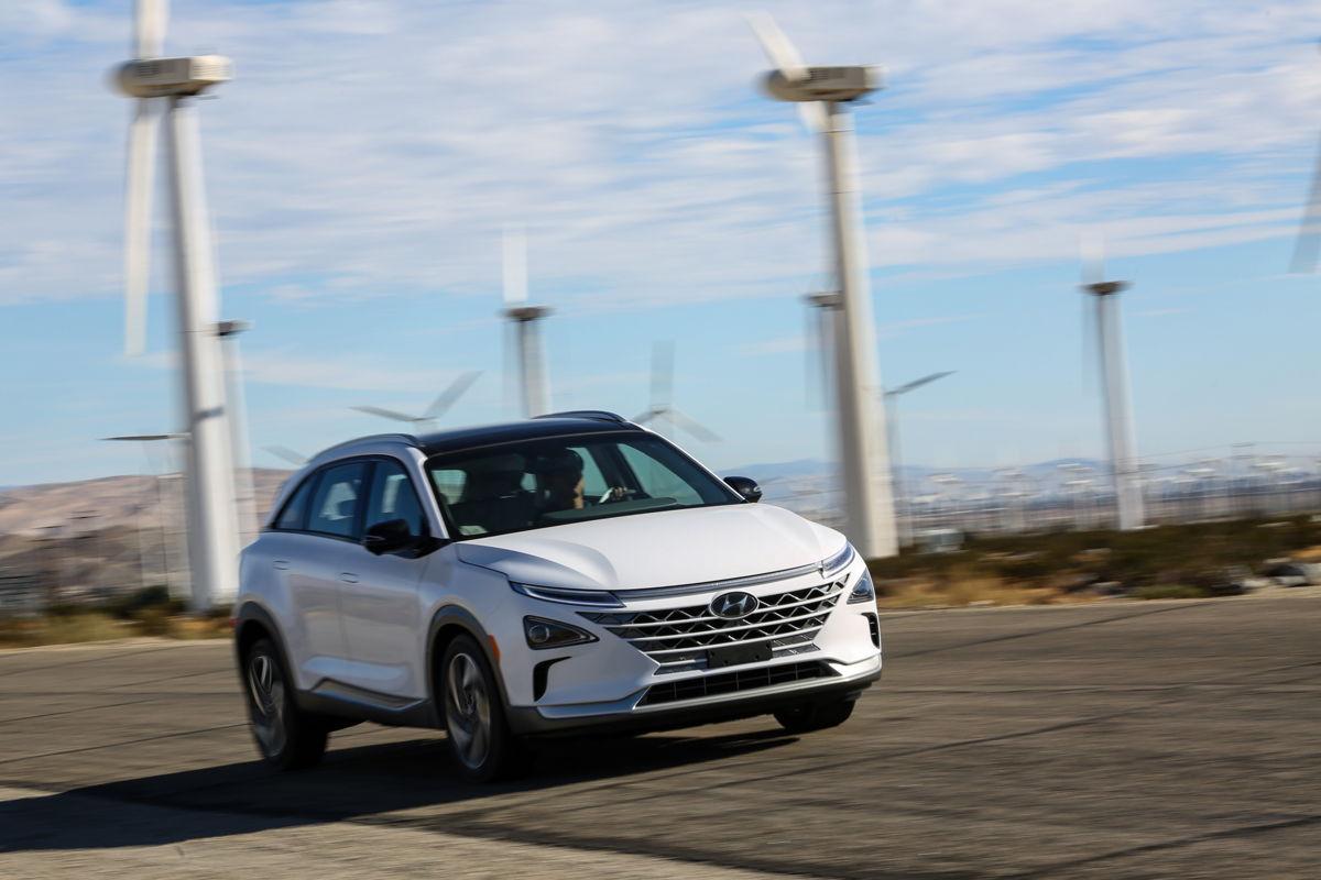 NEXO: de Hyundai-brandstofcelauto van de volgende generatie