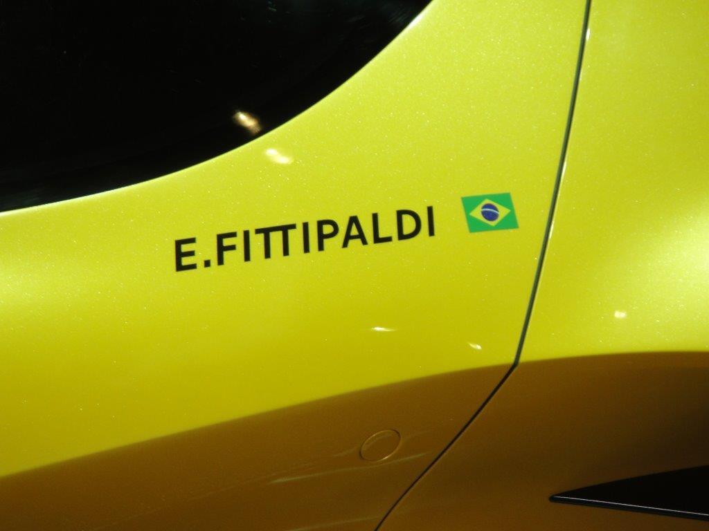 Pininfarina Fittipaldi EF7 VGT  (tekst en foto's Jan Wintein)