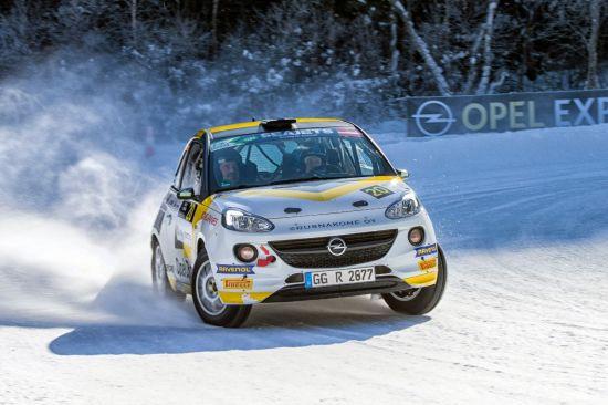 Start van het seizoen van 2018:  Opel zet succesvol rallyengagement verder