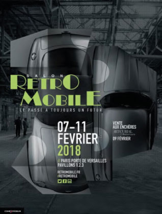 Retromobile 2018, een samenvatting.  (door de organisatie)