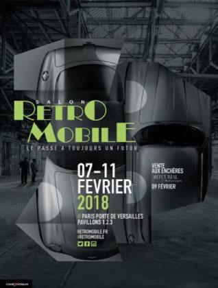Porsche @ Retromobile Parijs 2018. Wilfried Geerts