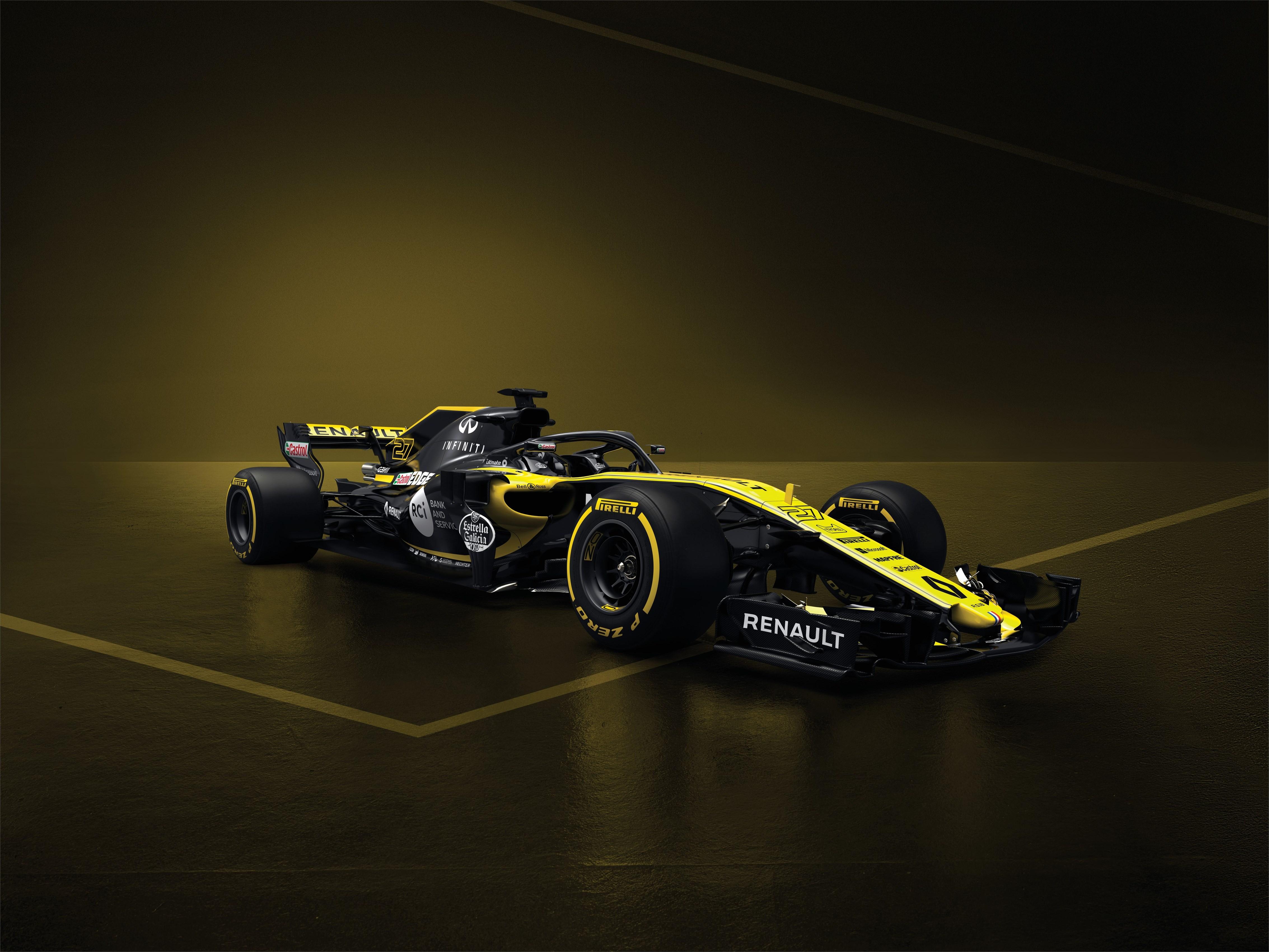 Renault Sport Formula One Team onthult zijn eenzitter voor 2018