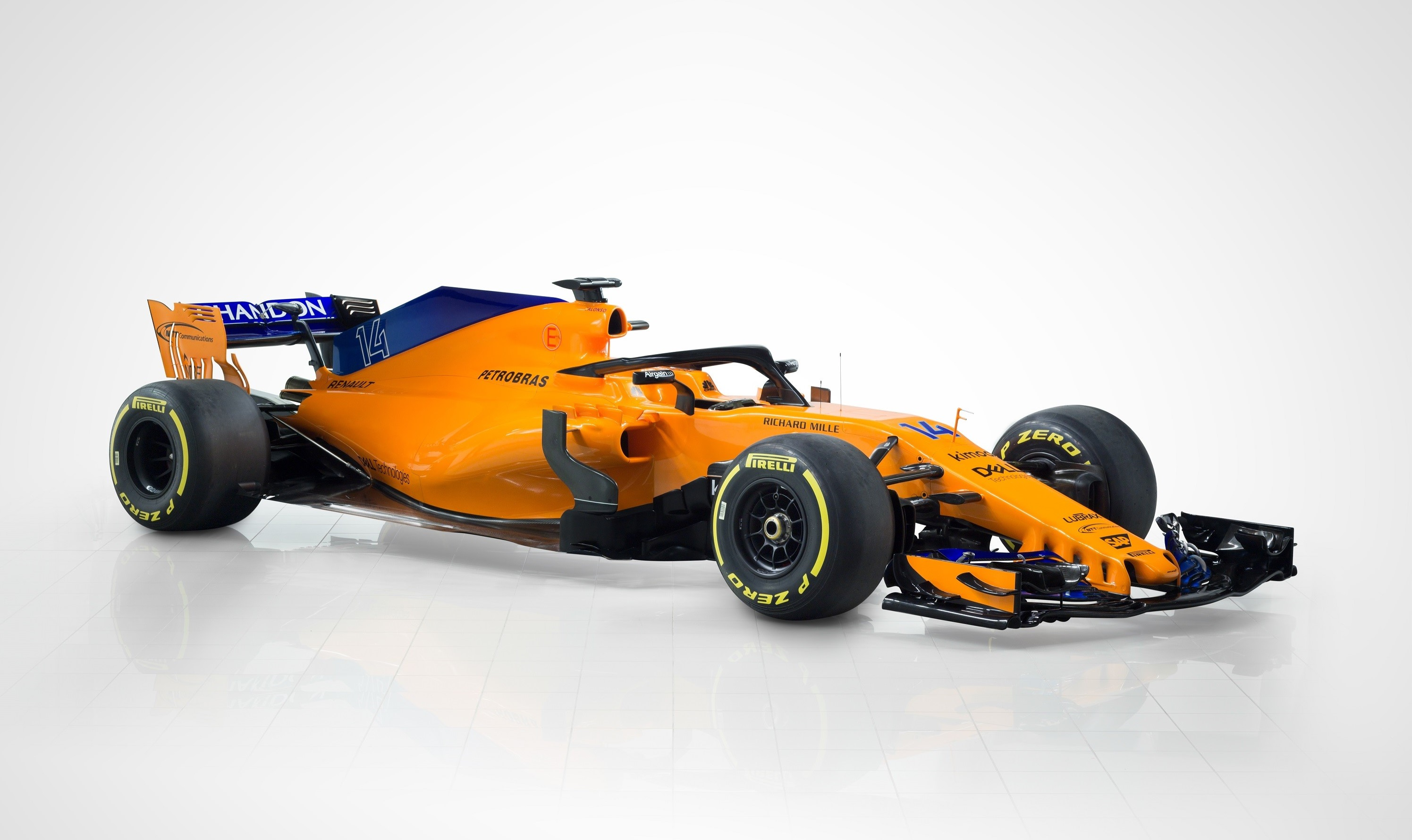 Be Brave   Unveiling the McLaren MCL33