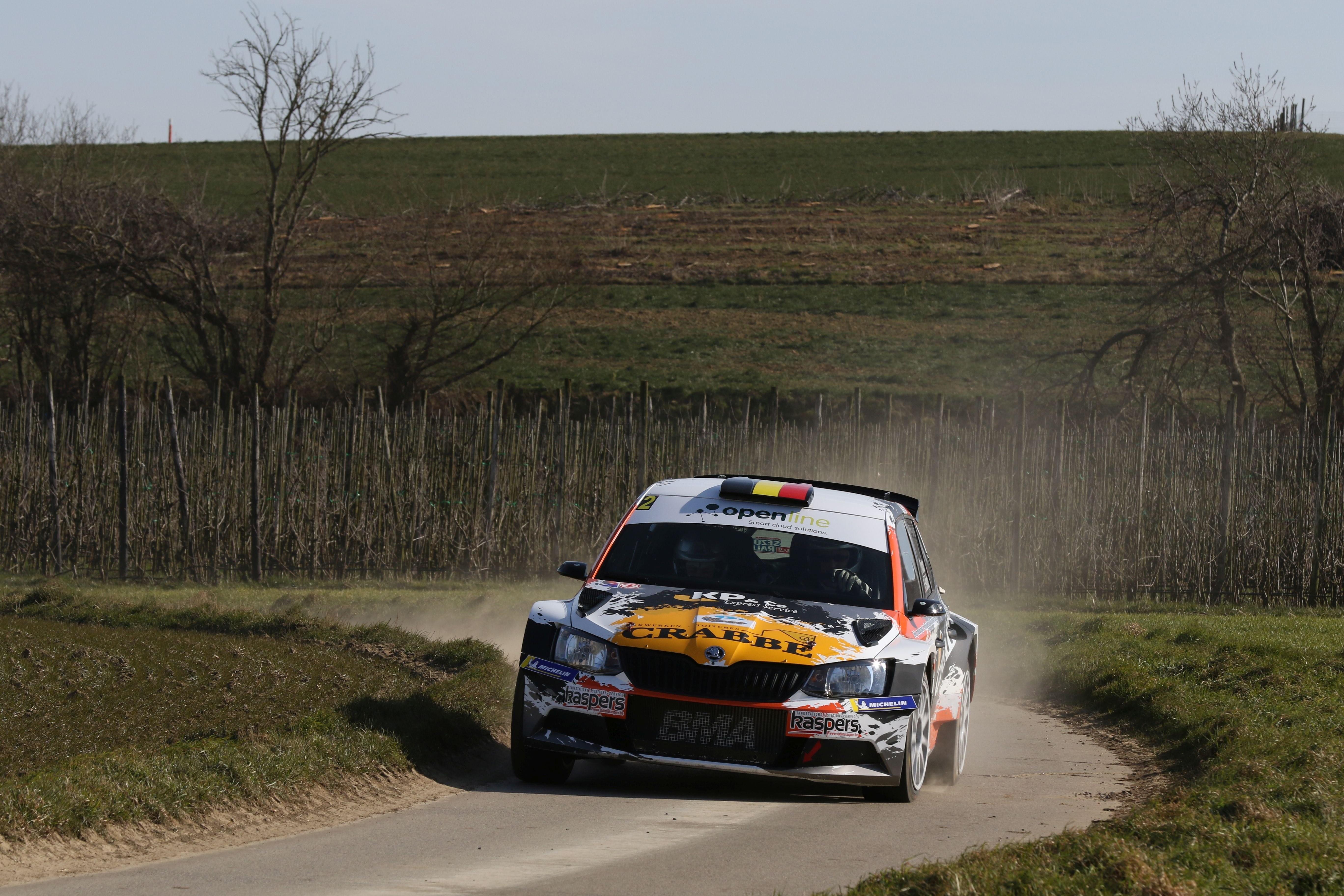 Rally van Haspengouw – 24/02/2018.  Kris Princen wint na een bewogen finale