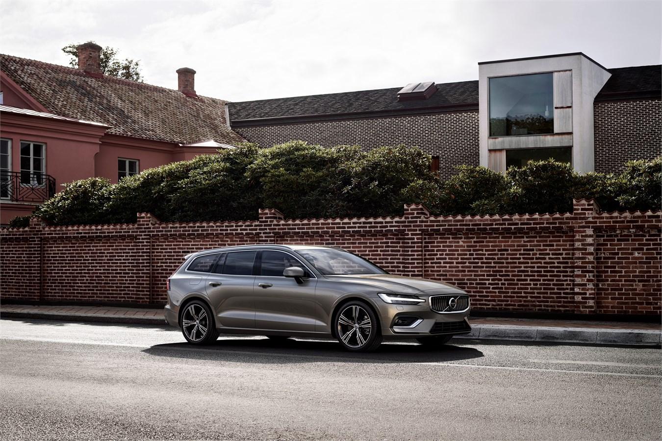 Volvo lanceert nieuwe versie van veelzijdige gezinsbreak V60