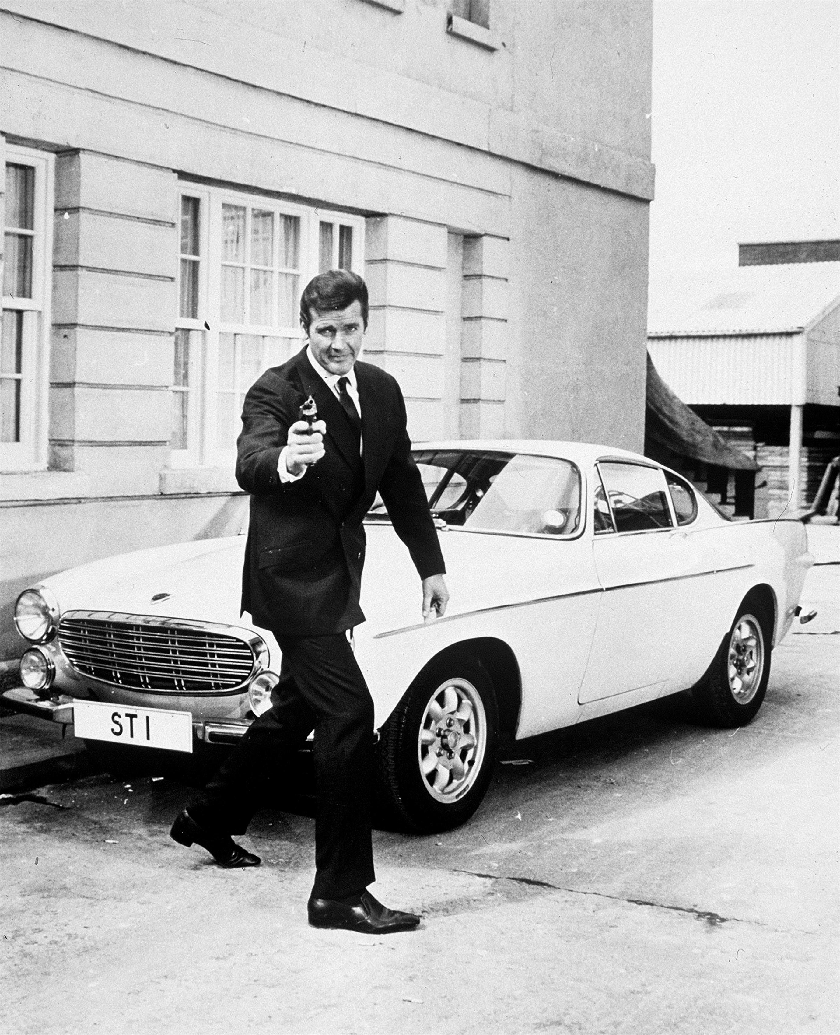 Volvo Cars brengt Sir Roger Moore's 1800 S naar Techno-Classica, het autosalon voor oldtimers