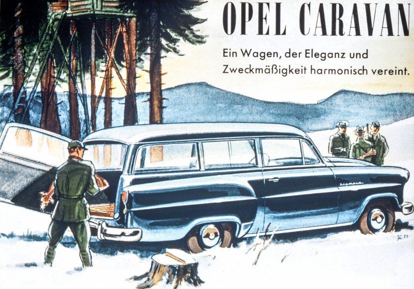 Ranger's dream: 1953 Opel Olympia Rekord Caravan.