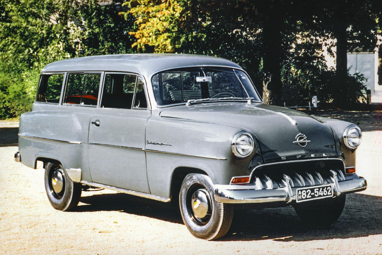 Praktisch kan zo aantrekkelijk zijn:  zes decennia met de beste Opel breaks