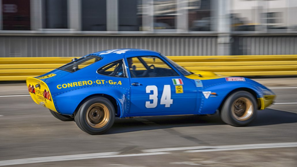 Made for motorsports: Conrero GTs celebrate successes in long distance racing in the early 1970s.