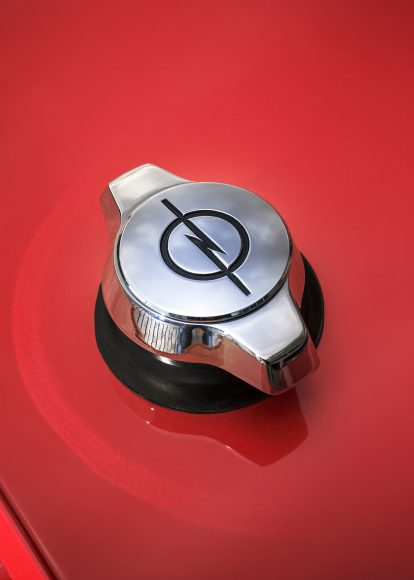 Detailed precision: The Opel GT designers focused on a unique design – right up to the design of the fuel cap.