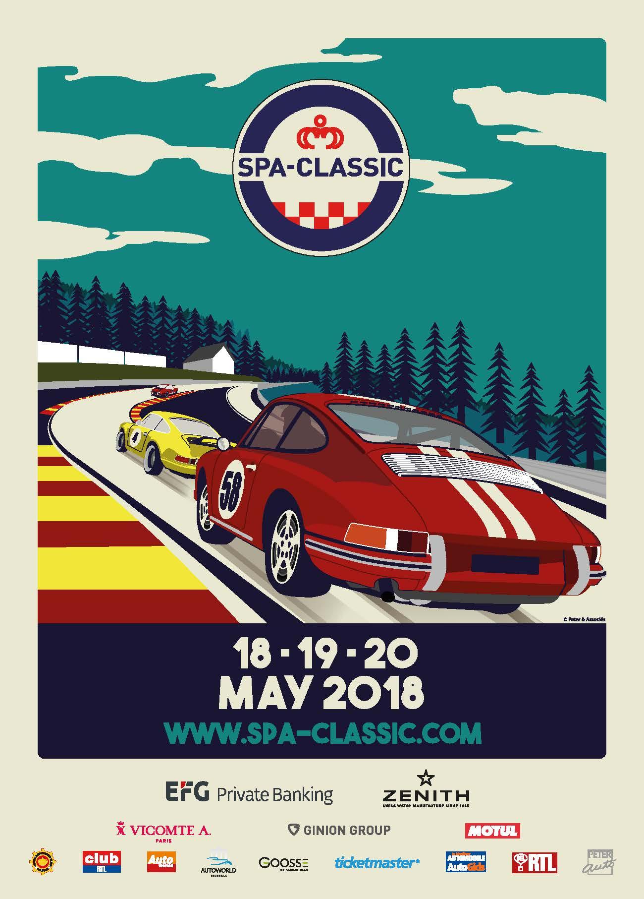 18-20 mei 2018 * Klassiekers en nieuwkomers op het mooiste circuit ter wereld!