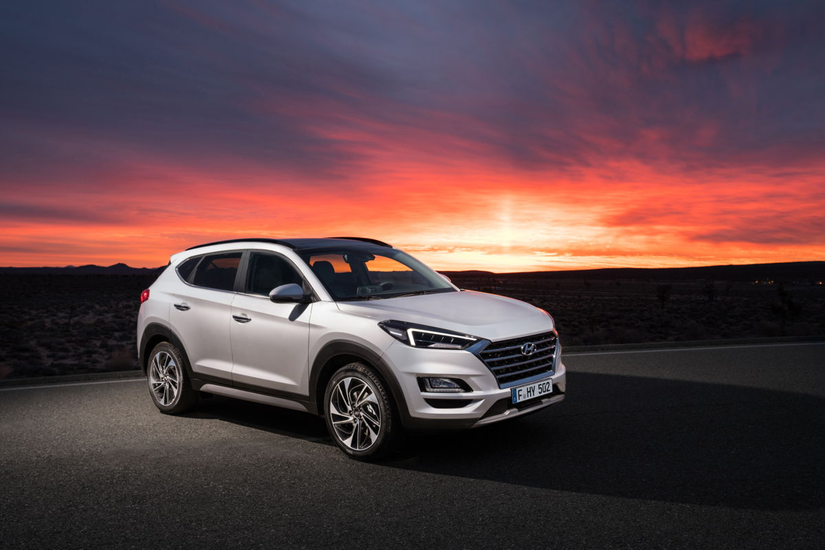 De New Hyundai Tucson