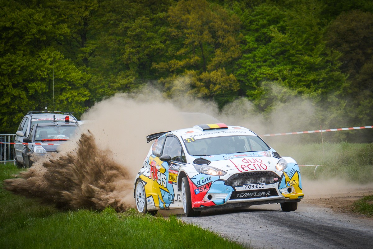 Mooie progressie van het JobFIXers Rally Team