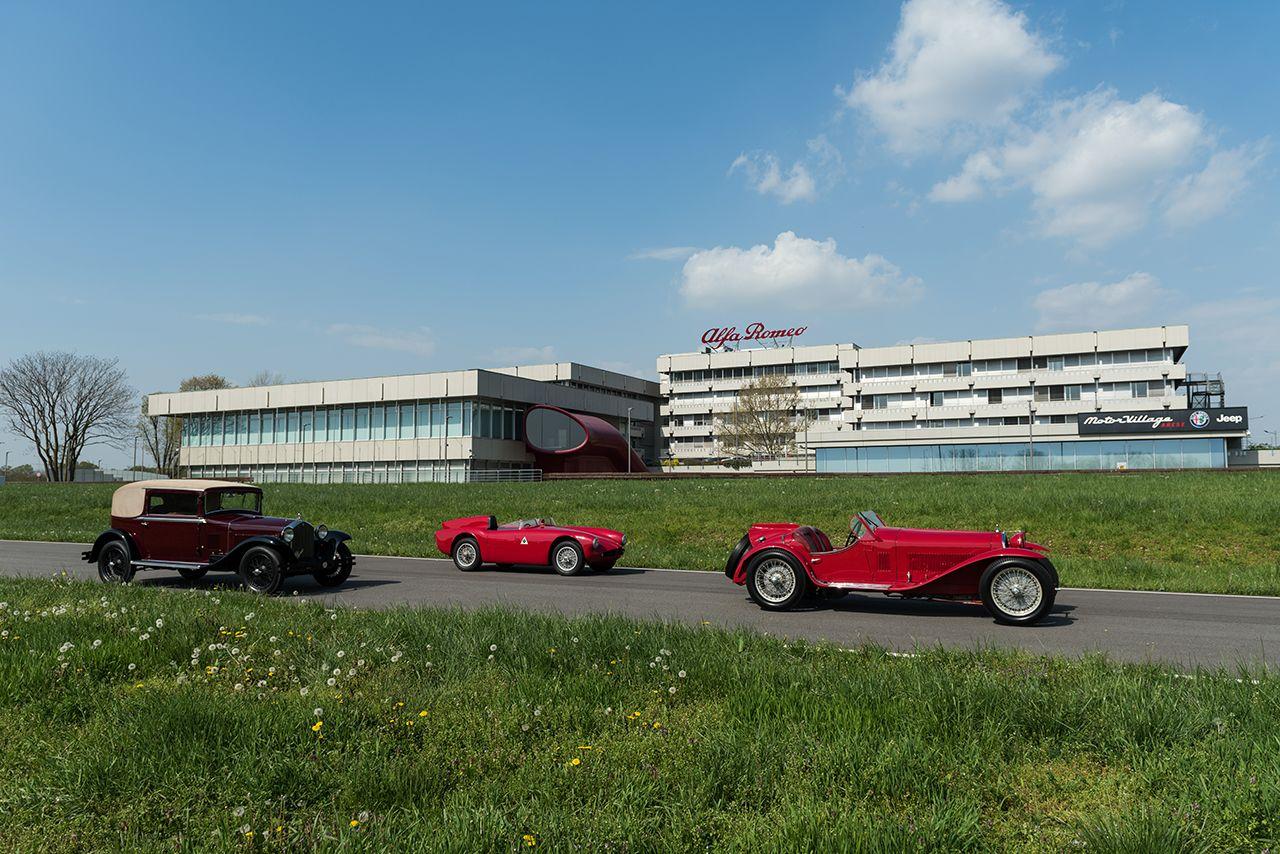 Mille Miglia 2018: de Alfa Romeo-legende blijft inspireren