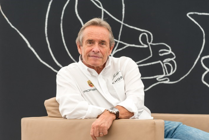 JACKY ICKX, Grand Marshal of the 2018 24 Hours of Le Mans