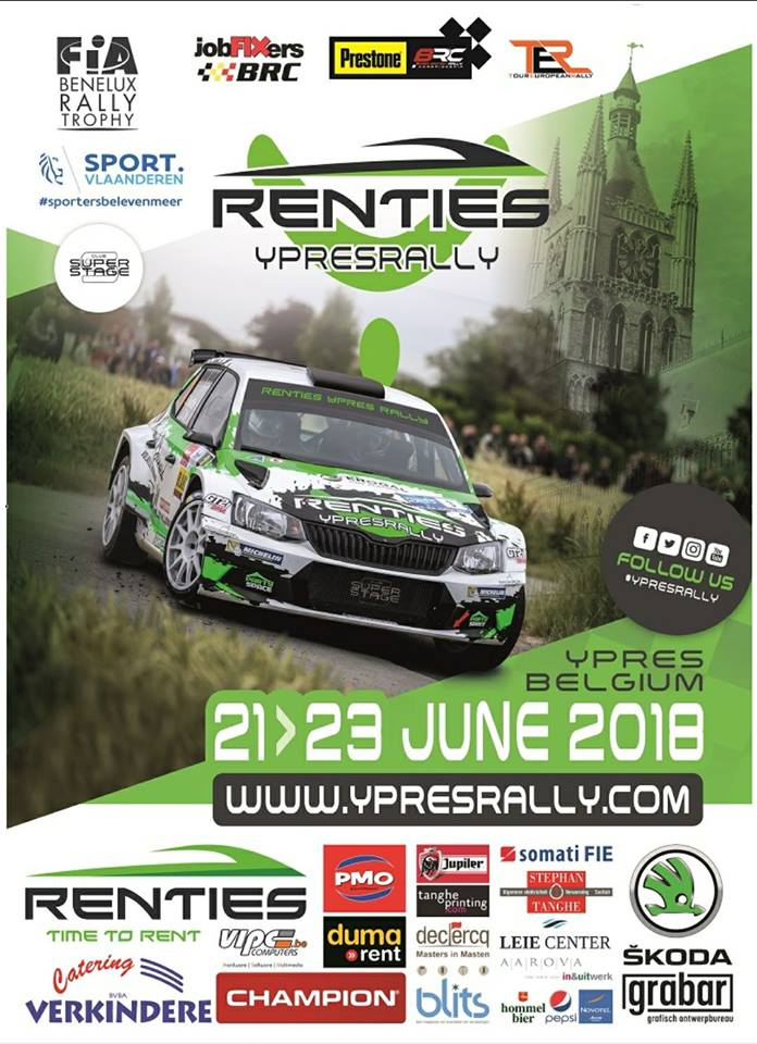 Renties Ypres Rally – 21-23 June 2018