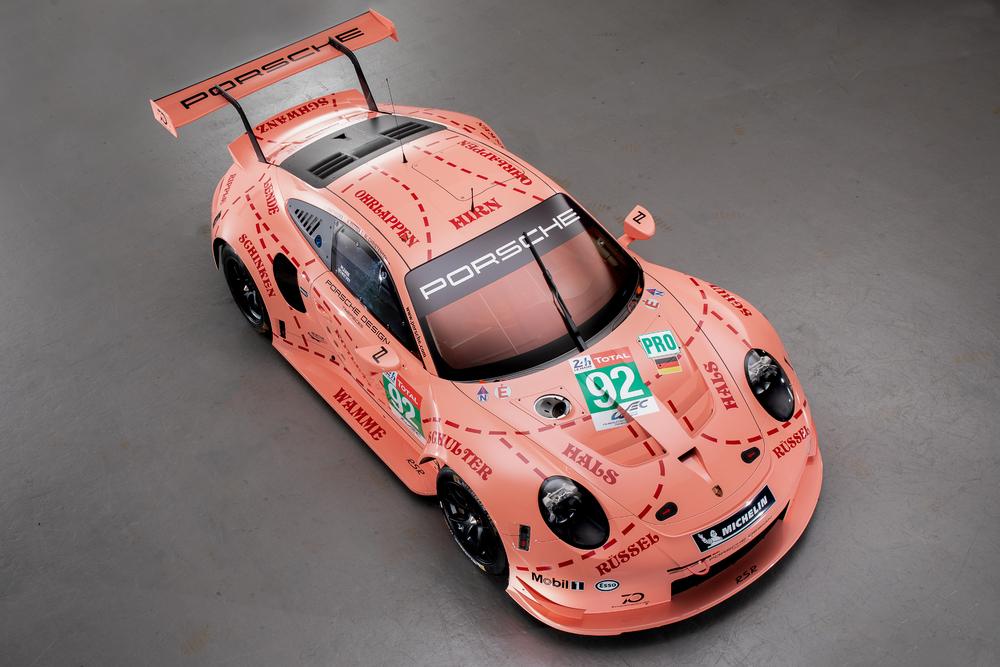 The screaming Ten. By Porsche