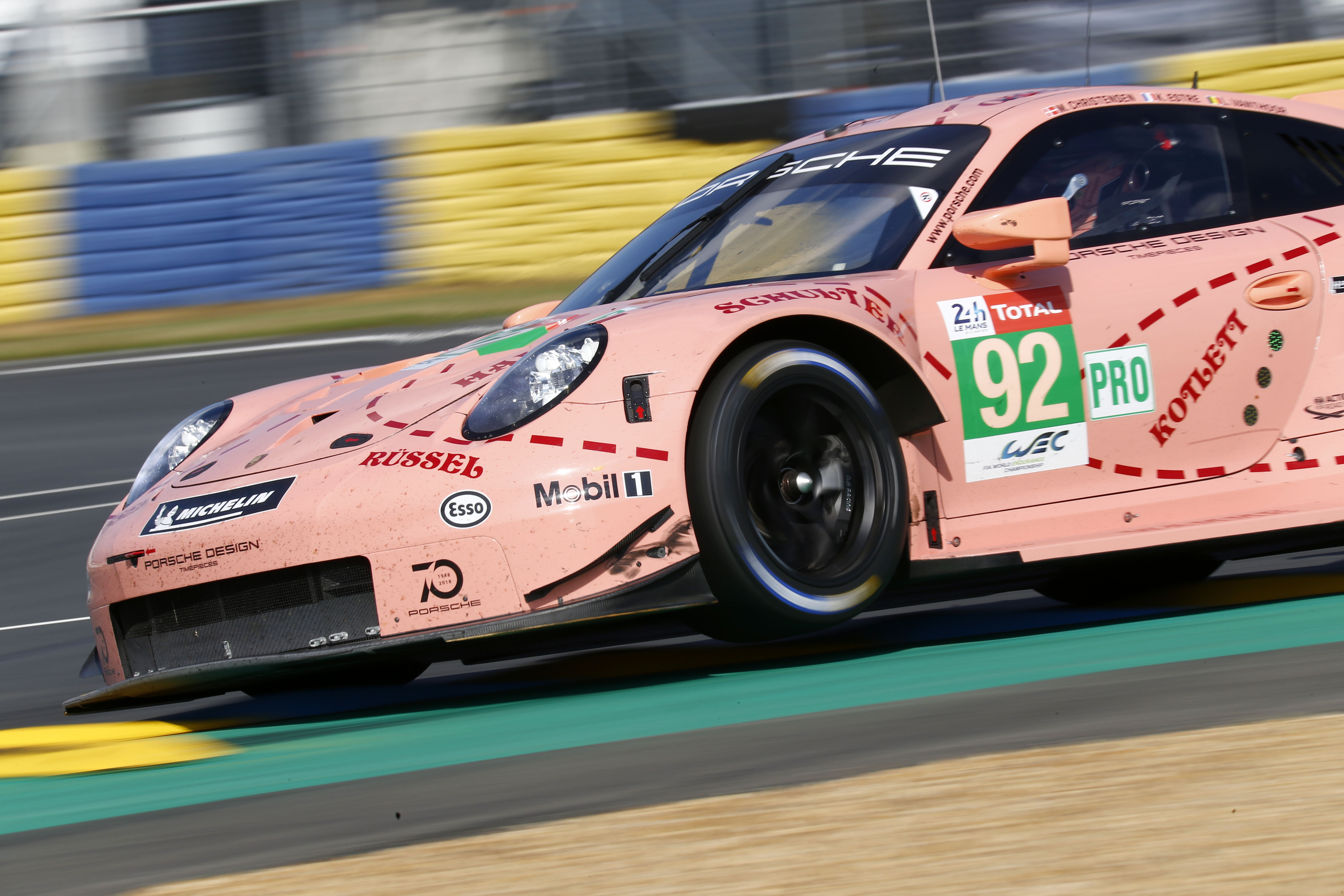 Double victory for Porsche at the 24 Hours of Le Mans