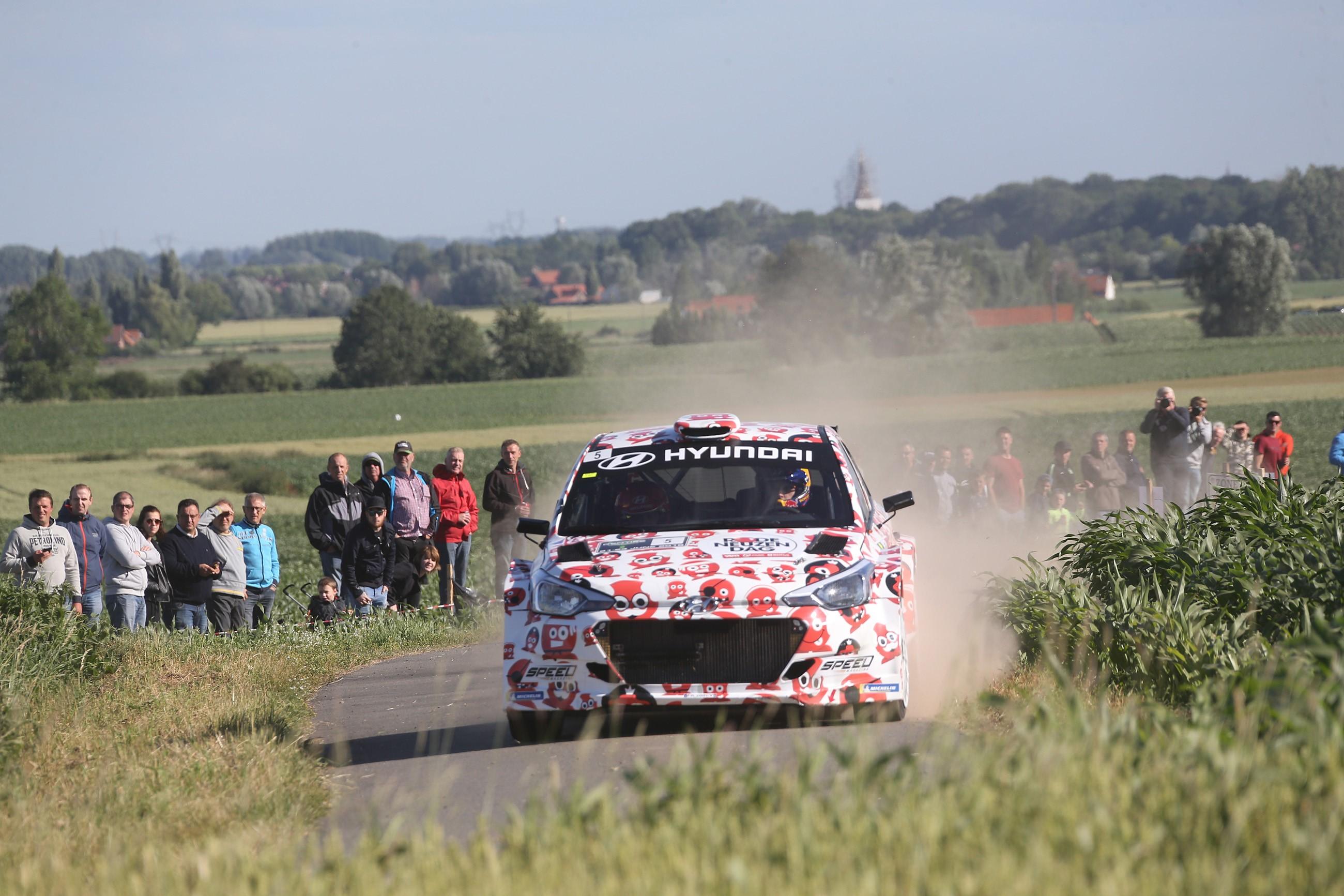 Renties Ypres Rally – 21-23 June 2018  Na KP 5: Bouffier en Abbring uit koers