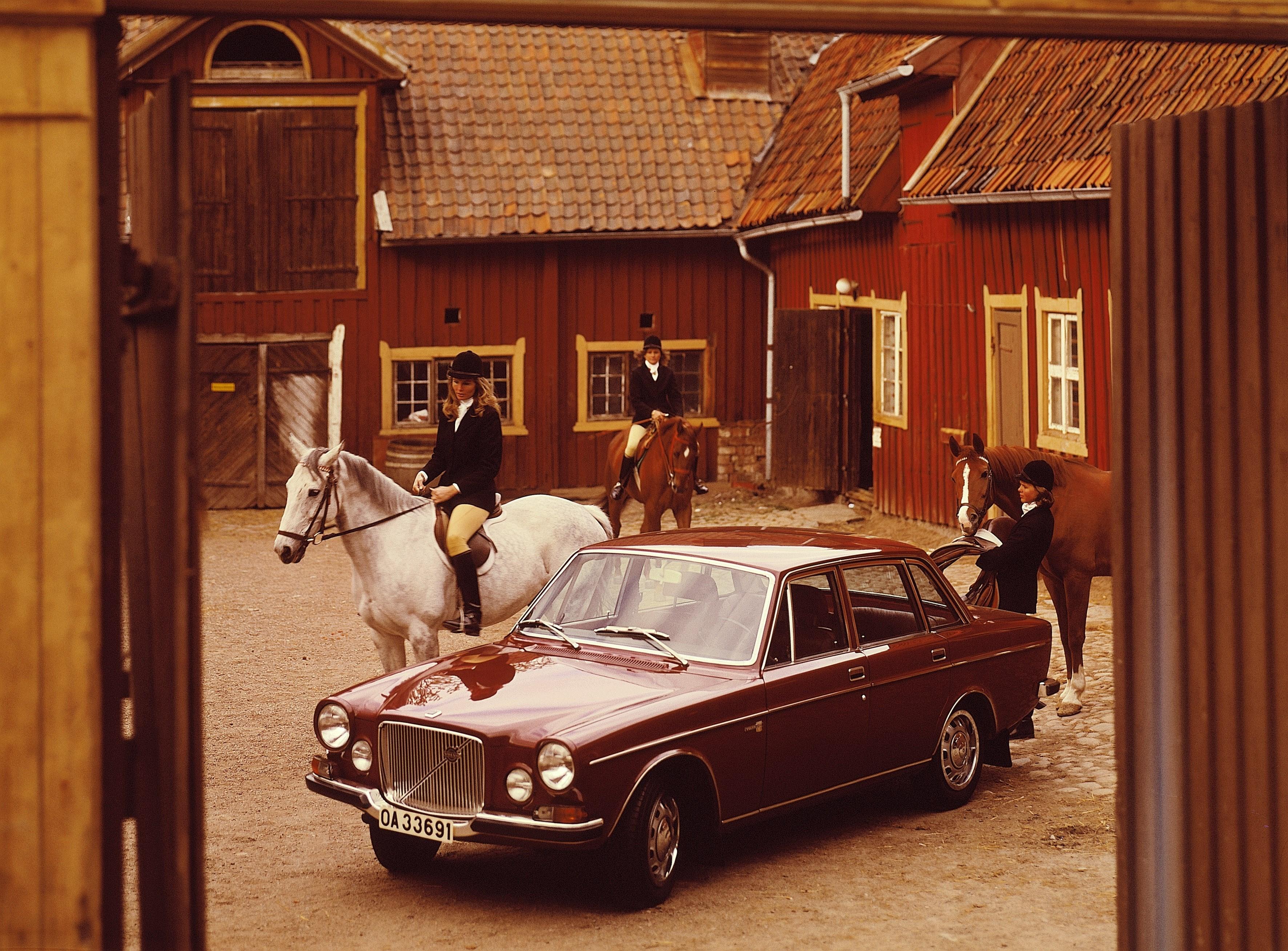 Volvo 164 – het prestigieuze model uit de jaren 60 wordt 50
