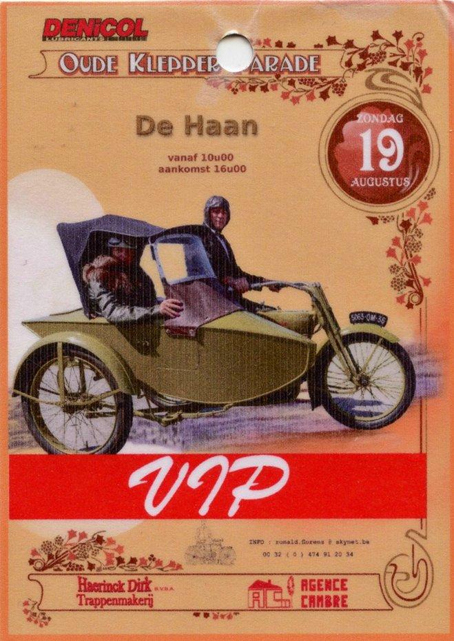OUDE  KLEPPER PARADE DE  HAAN 2018.  Wilfried Geerts