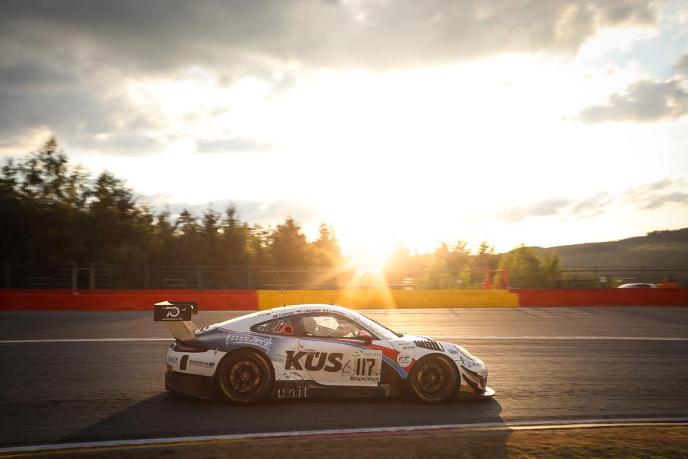 Porsche op Silverstone.video